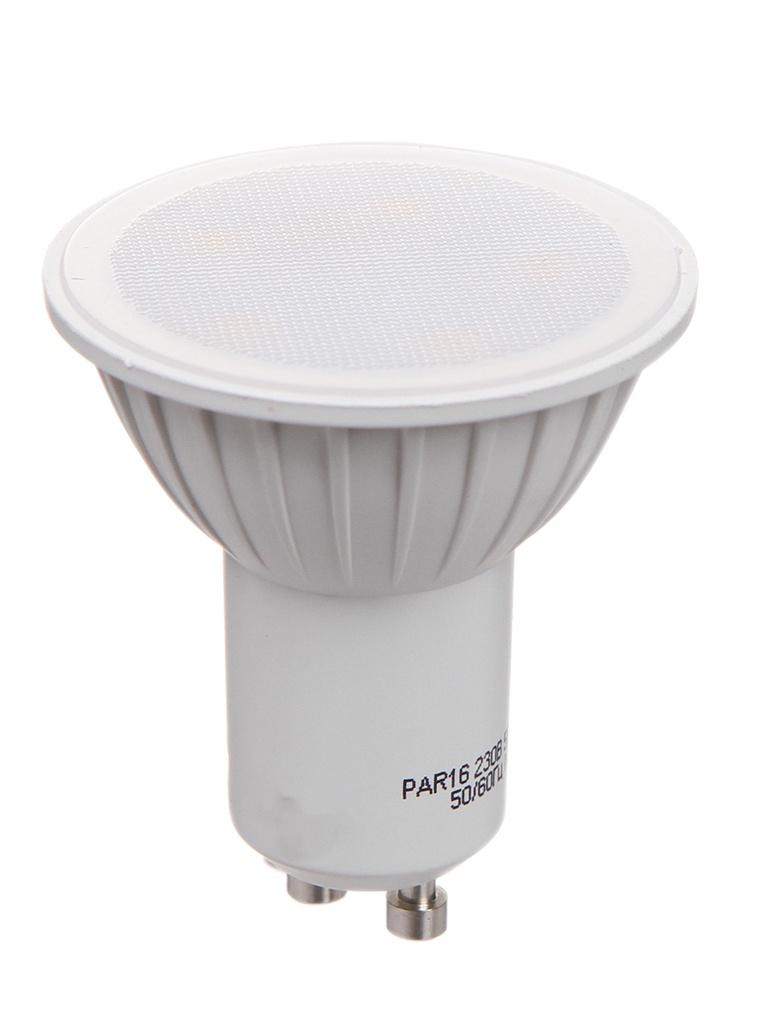 Лампочка ОнЛайт LED PAR16 GU10 5W 230V 3000K OLL-PAR16-5-230-3K-GU10 61 892
