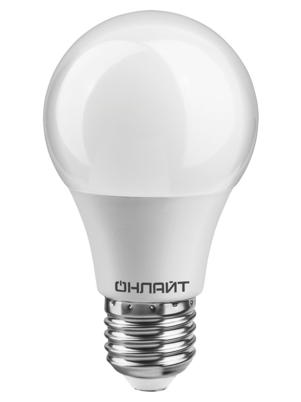 Лампочка ОнЛайт LED A55 E27 10W 230V 2700K OLL-A55-10-230-2.7K-E27-PROMO 82 910