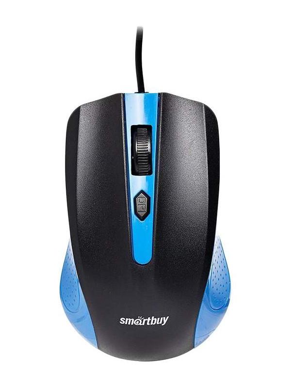 Мышь SmartBuy One 352 Blue-Black SBM-352-BK