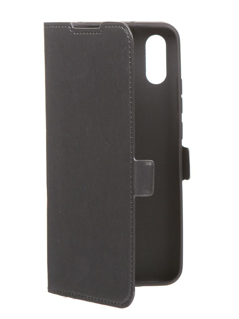 Чехол DF для Xiaomi Redmi 9A Black xiFlip-63