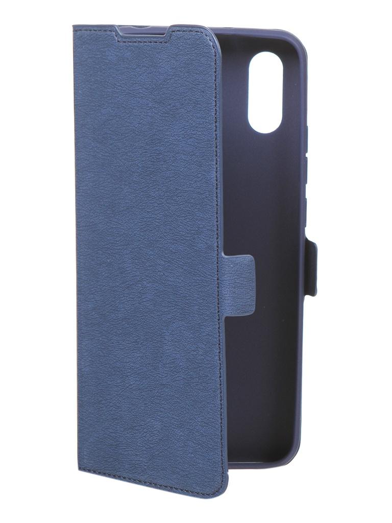 Чехол DF для Xiaomi Redmi 9A Blue xiFlip-63