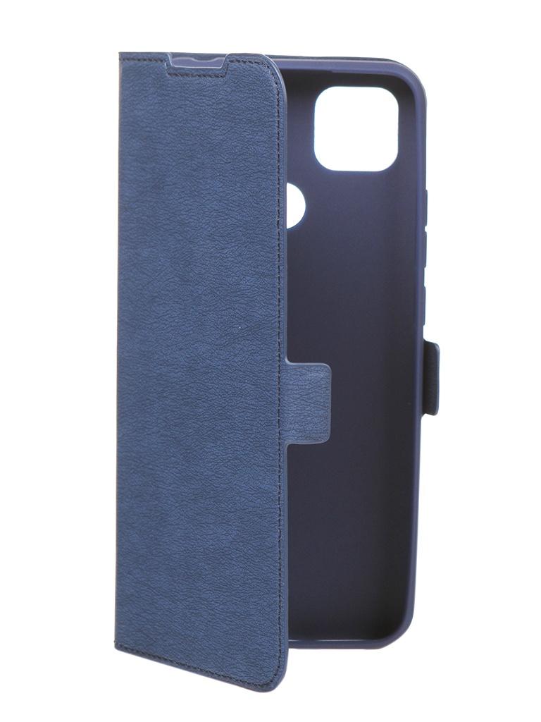 Чехол DF для Xiaomi Redmi 9C Blue xiFlip-64