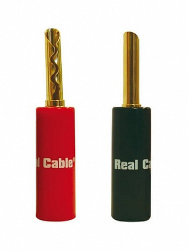 Разъем Real Cable Banana BFA6020-2C/4PCS
