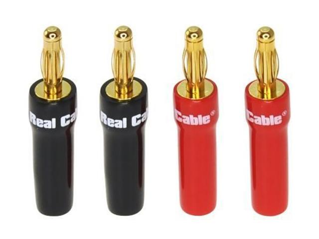 Разъем Real Cable Banana B6035AS-2C/4PCS