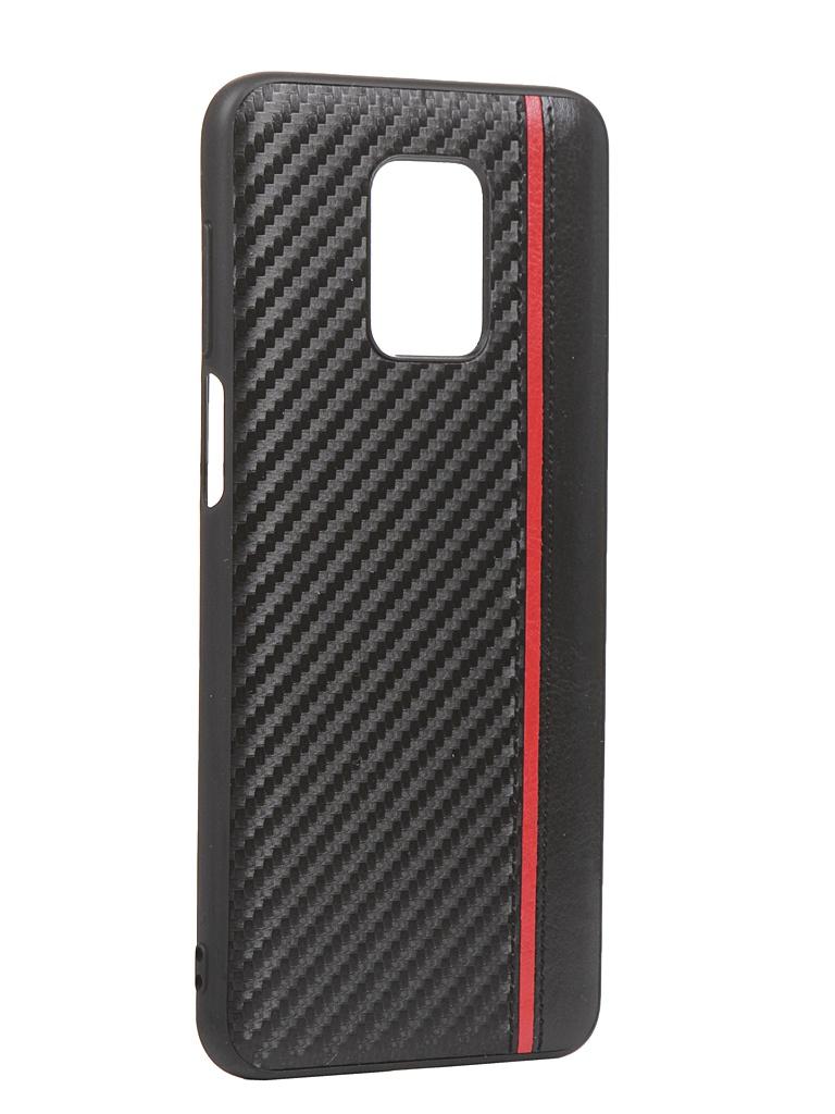 Чехол G-Case для Xiaomi Redmi Note 9S / 9 Pro Max Carbon Black GG-1234