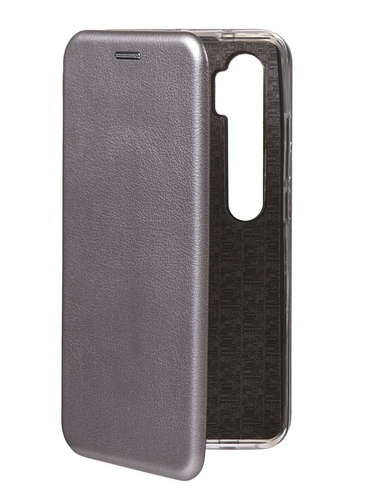 Чехол Innovation для Xiaomi Mi Note 10 Book Silicone Magnetic Silver 17053 чехол innovation для xiaomi mi 9se silicone red 15398