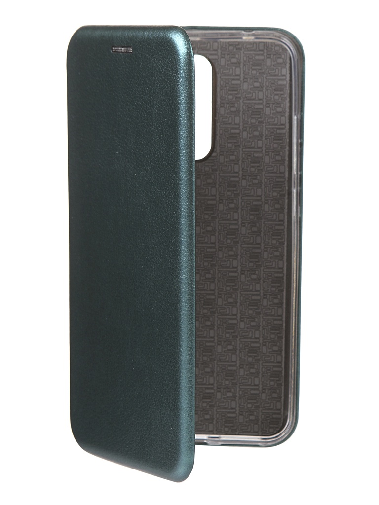 Чехол Innovation для Xiaomi Redmi 8 Book Silicone Magnetic Green 17012