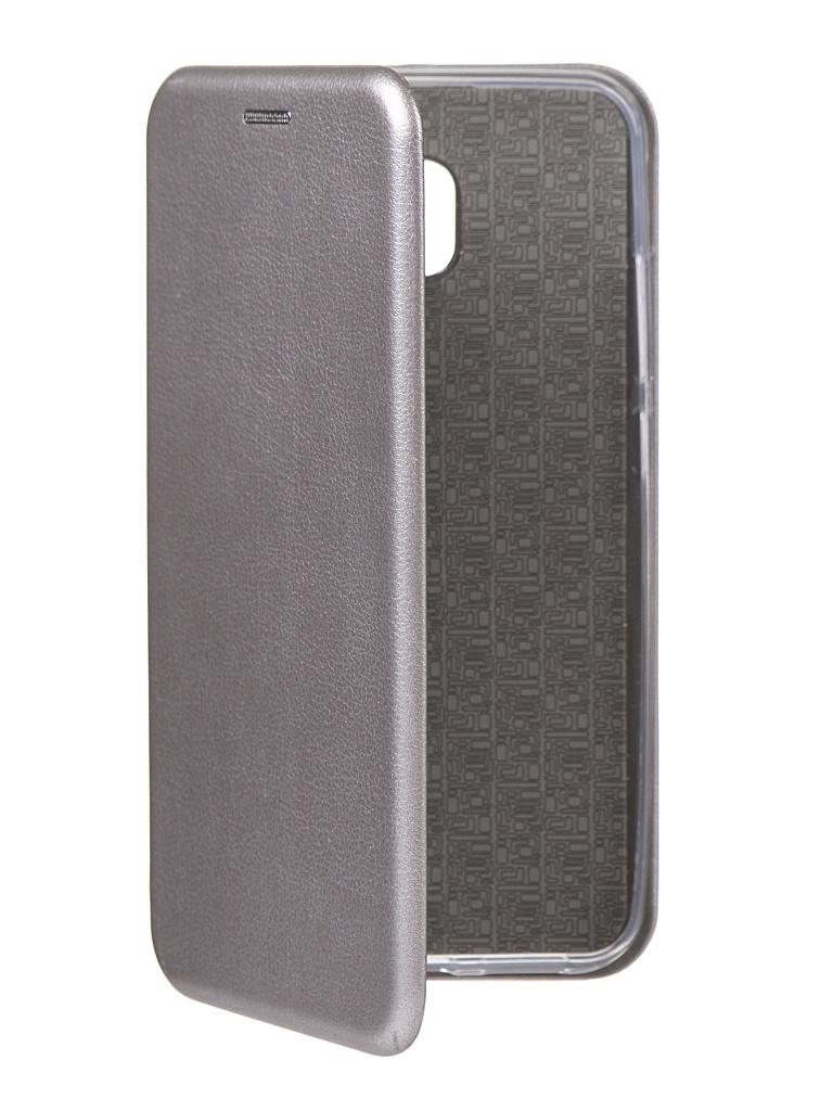 Чехол Innovation для Xiaomi Redmi 8A Book Silicone Magnetic Silver 16625 skinbox silicone chrome border 4people чехол для xiaomi redmi 4 silver