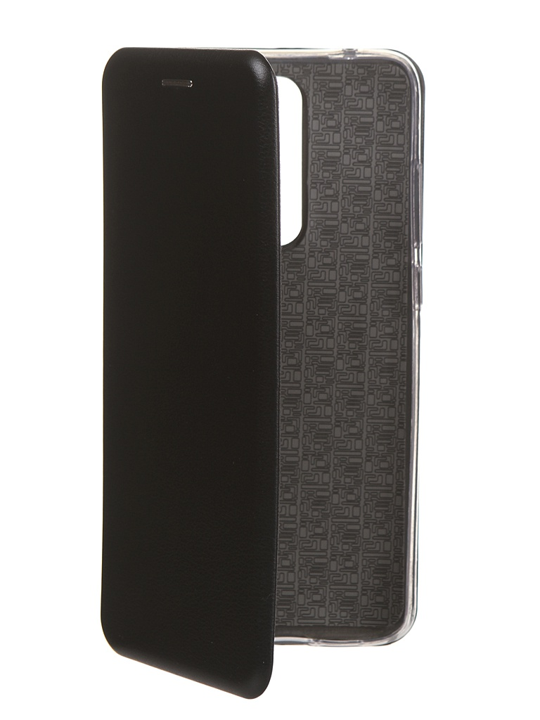 Чехол Innovation для Xiaomi Redmi Note 8 Pro Book Silicone Magnetic Black 16642