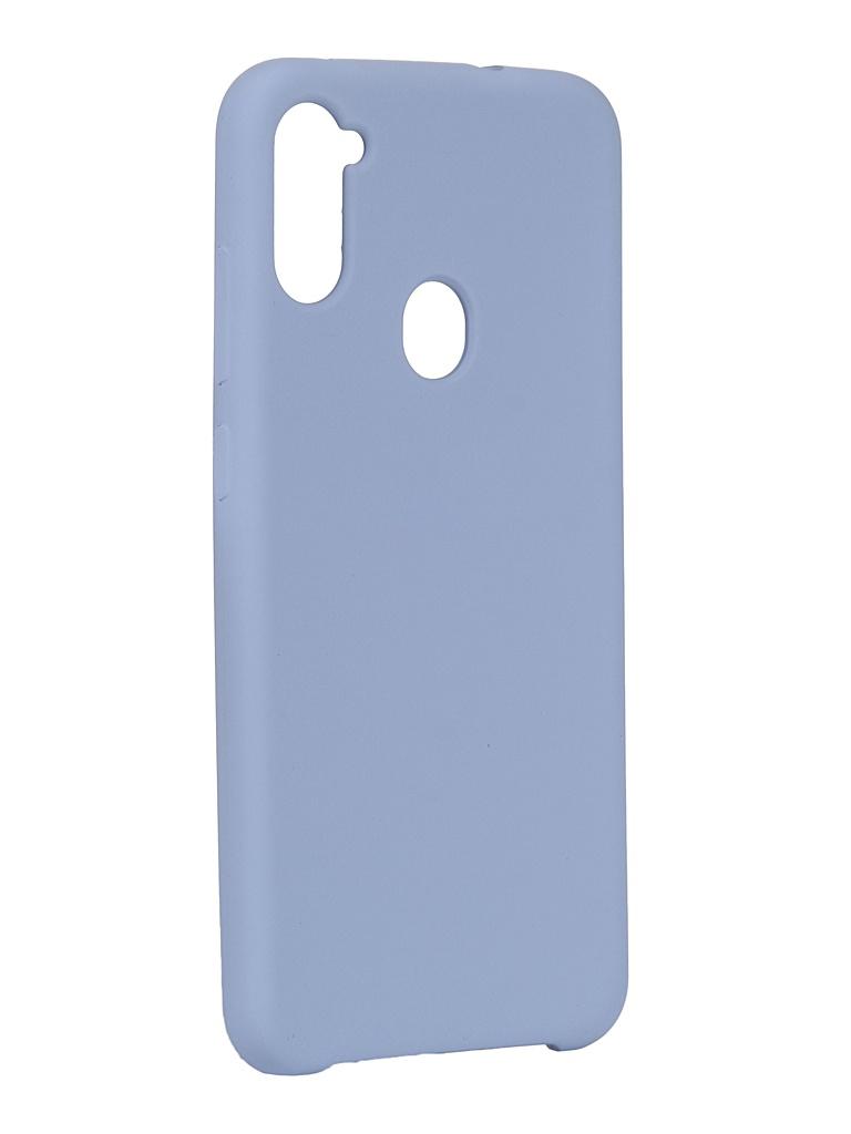 Чехол Innovation для Samsung Galaxy A11 Silicone Cover Purple 17721