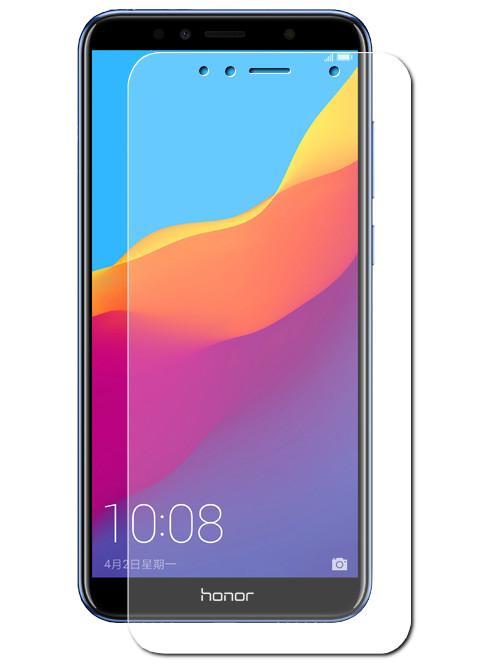 Противоударное стекло Innovation для Huawei Honor 7A/Y5 Prime 2018 14259 аксессуар стекло противоударное для huawei y5 prime 2018 honor 7a gurdini 2 5d full screen blue 907955