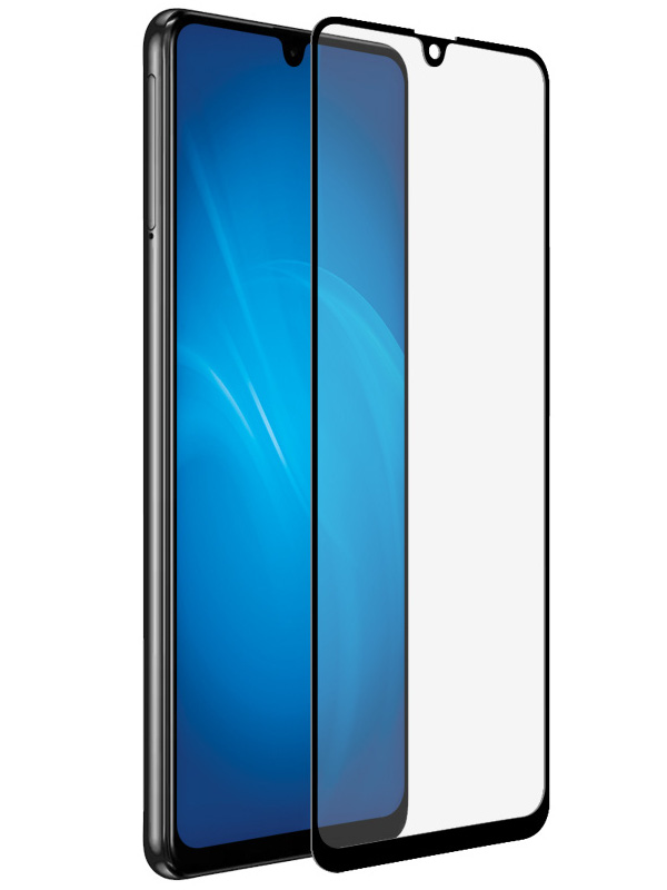 Противоударное стекло Innovation для Samsung A31 2D Full Glue Black 16907