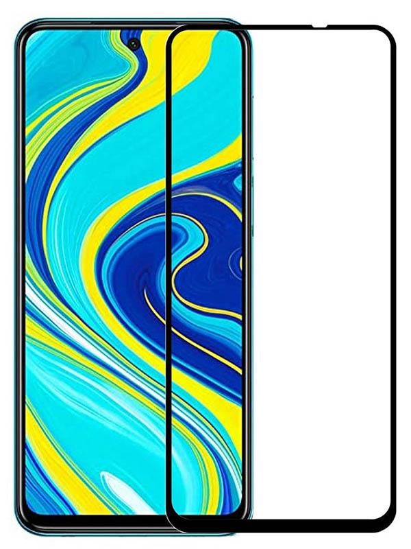 Противоударное стекло Innovation для Xiaomi Redmi Note 9 2D Full Glue Black 16953