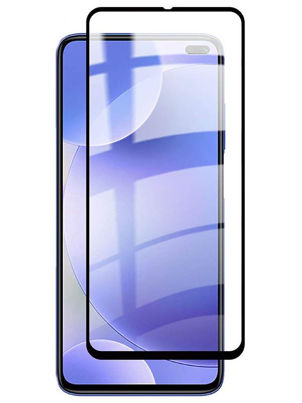Противоударное стекло Innovation для Xiaomi Redmi K30 2D Full Glue Black 16910