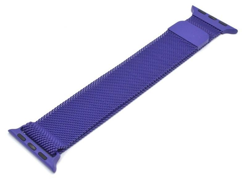 Аксессуар Ремешок Innovation для APPLE Watch 38/40 Milan Loop Purple 14960
