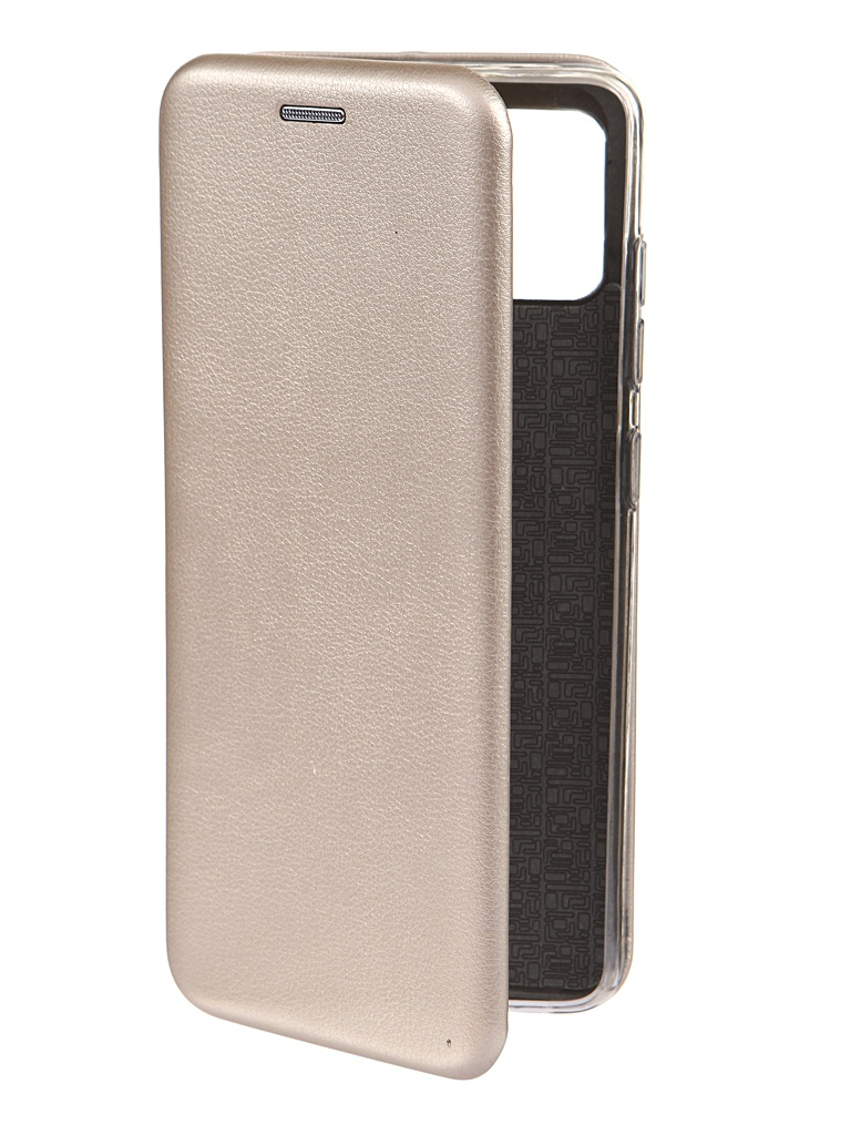 Чехол Innovation для Samsung Galaxy A51 Book Gold 16821