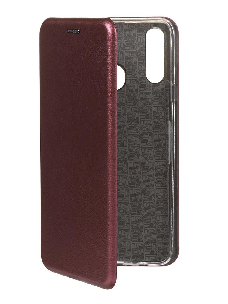 Чехол Innovation для Samsung Galaxy A20s Book Burgundy 16904