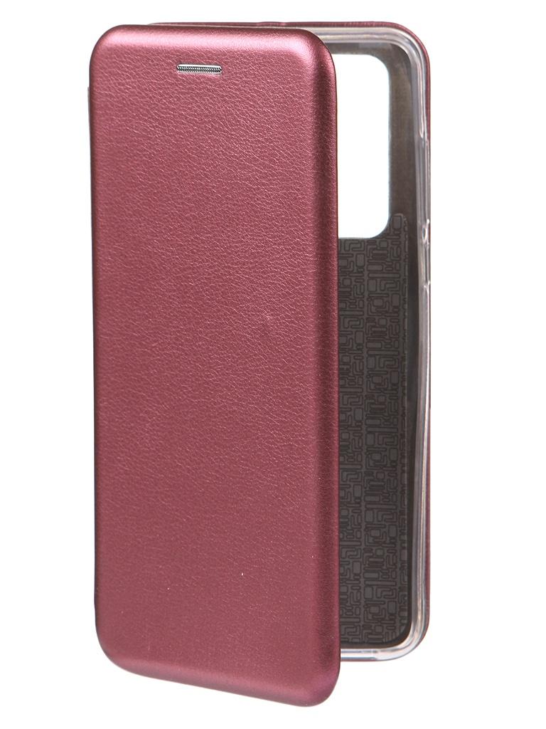 Чехол Innovation для Huawei P40 Book Burgundy 17064