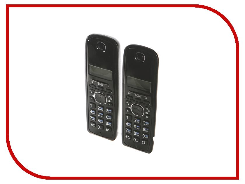 Радиотелефон Panasonic KX-TG1612 RU1 Grey-White радиотелефон panasonic kx tgf310rum