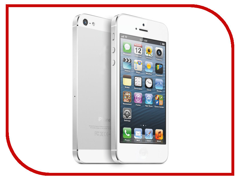 Сотовый телефон APPLE iPhone 5S - 16Gb Silver ME433RU/A<br>