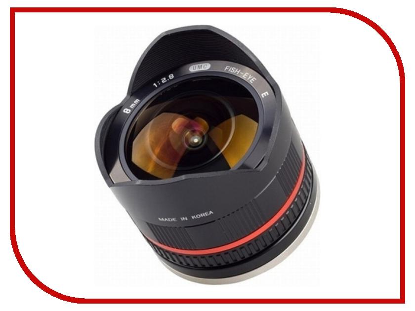 Объектив Samyang Sony E NEX MF 8 mm F/2.8 Fish-eye UMC II Black<br>