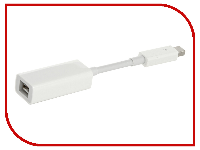 Аксессуар Адаптер APPLE Thunderbolt to FireWire Adapter MD464ZM/A