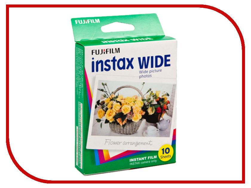 Fujifilm Wide Glossy 10/PK для Instax 210 fujifilm glossy 10 pk для instax mini