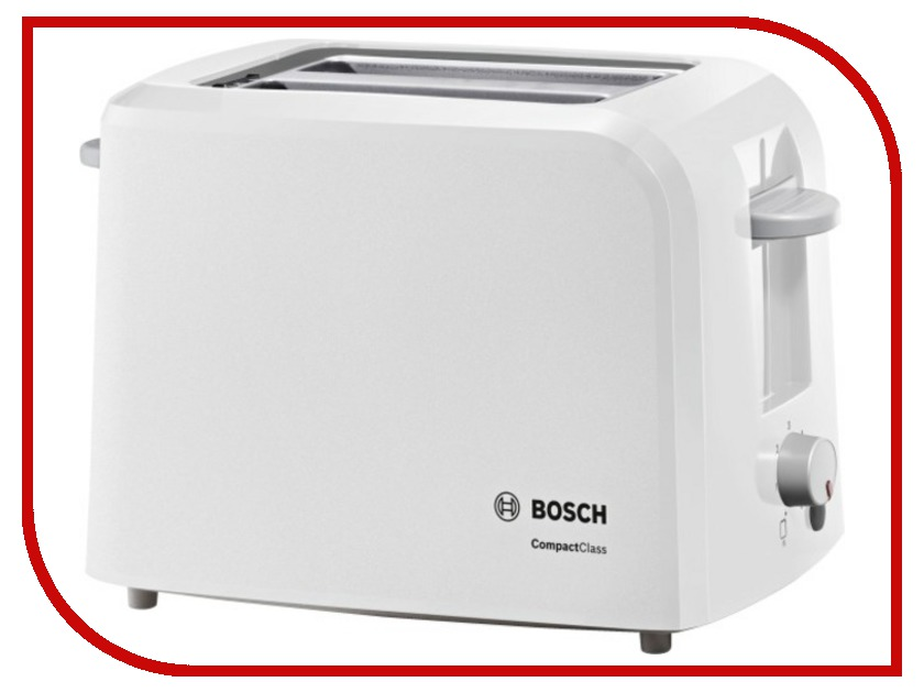 Тостер Bosch TAT 3A011 White
