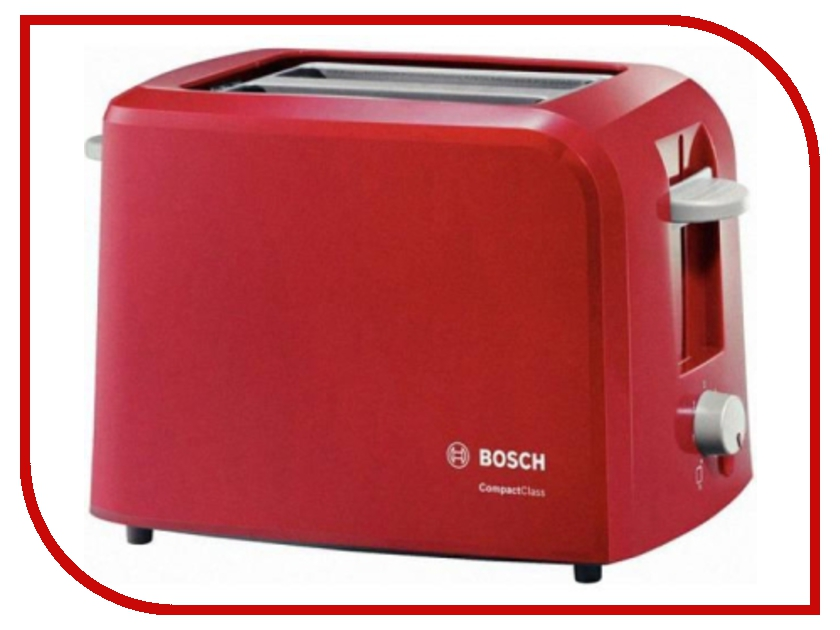 Тостер Bosch TAT 3A014 Red