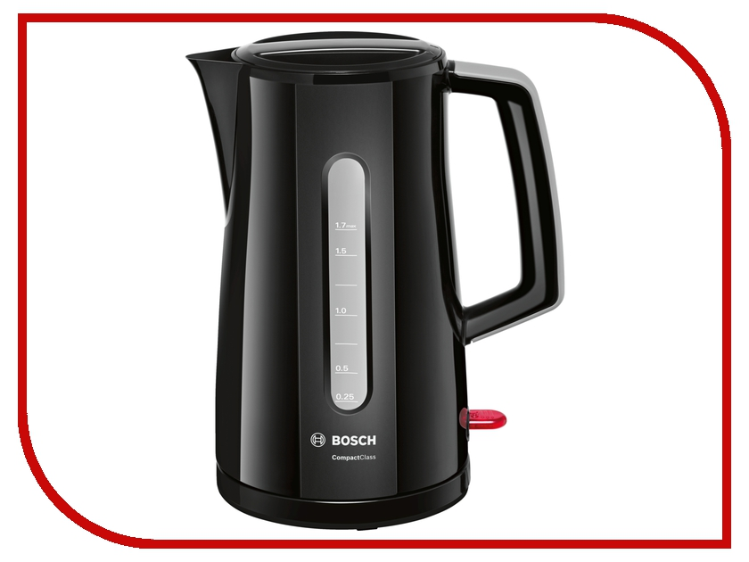 Чайник Bosch TWK 3A013 Black цена