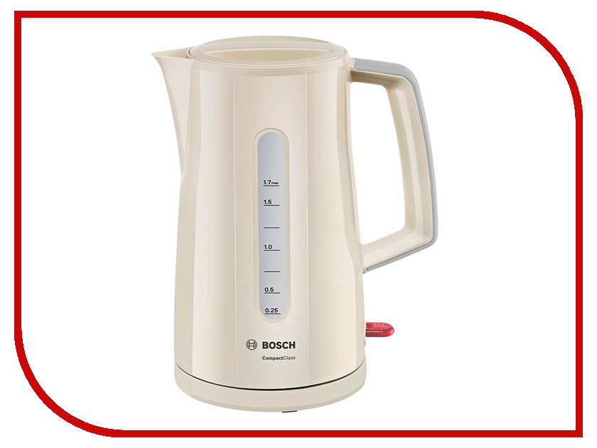 Чайник Bosch TWK 3A017 Beige чайник bosch twk 3a017