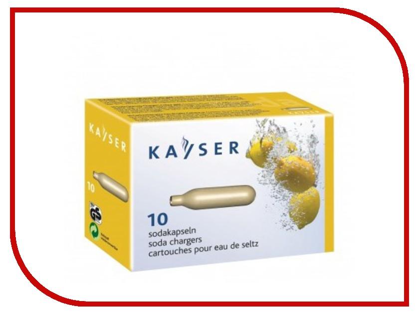 Сифон KAYSER KC02-10 1101 баллончики для сифона 10шт купить газовые баллончики для плитки в спб