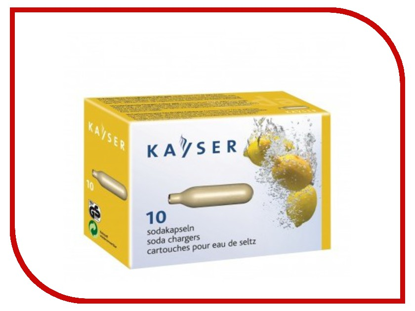 Сифон KAYSER KC02-10 1101 баллончики для сифона 10шт