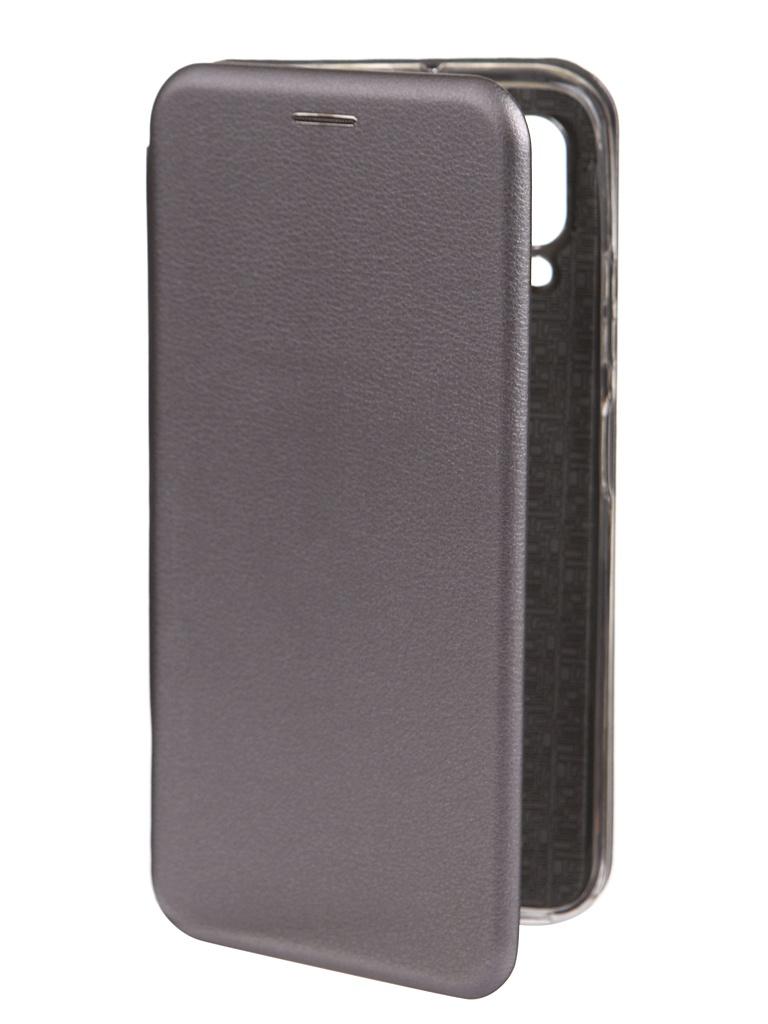Чехол Innovation для Huawei P40 Lite Book Silver 17075