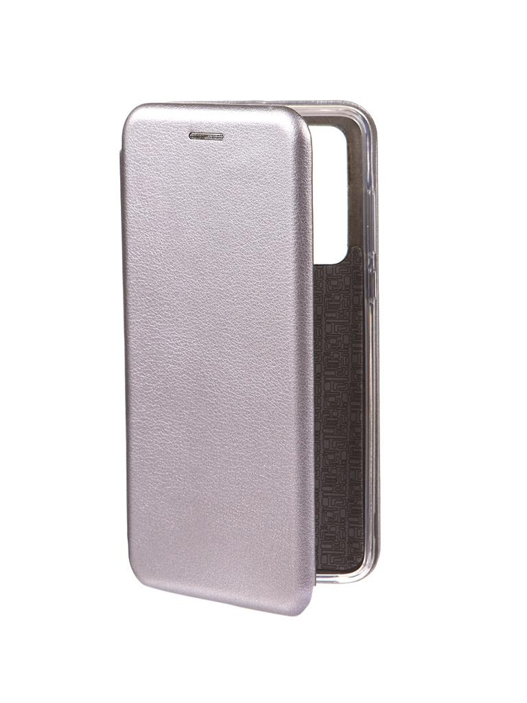Чехол Innovation для Huawei P40 Book Silver 17070