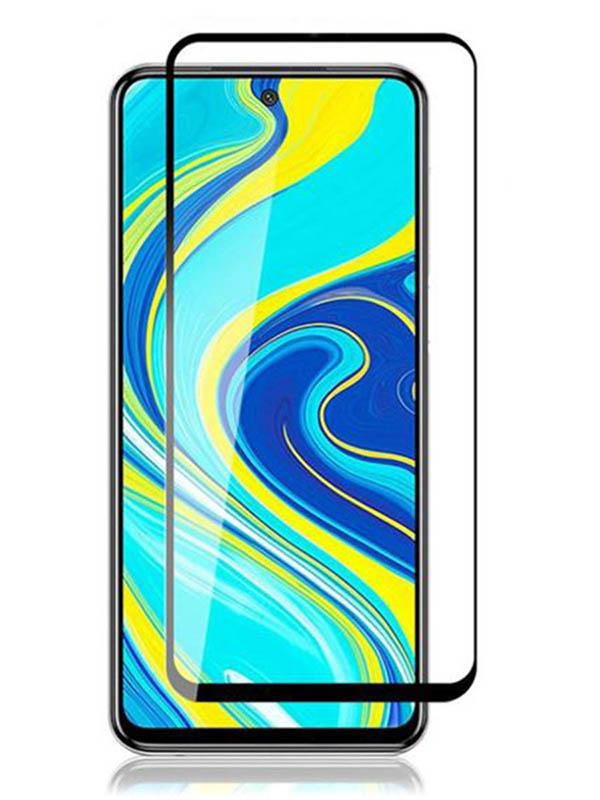 Защитное стекло Innovation для Xiaomi Redmi Note 9 Pro Max 2D Full Glue Black 16914 аксессуар защитное стекло для samsung galaxy a3 2016 a310 innovation 2d colorful black 10126