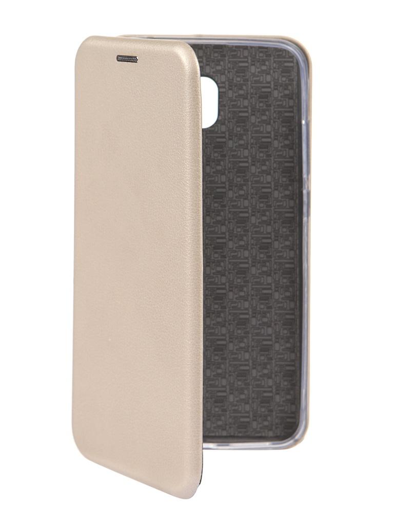 Чехол Innovation для Xiaomi Redmi 8A Book Gold 16631