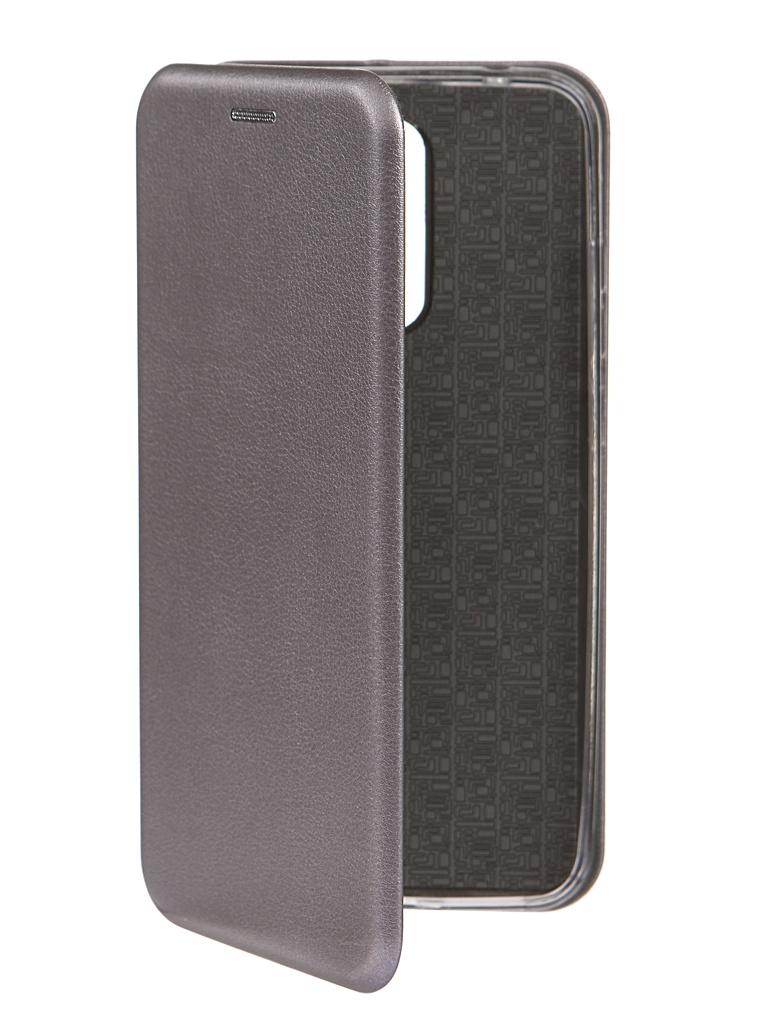 Чехол Innovation для Xiaomi Redmi 8 Book Silver 16618