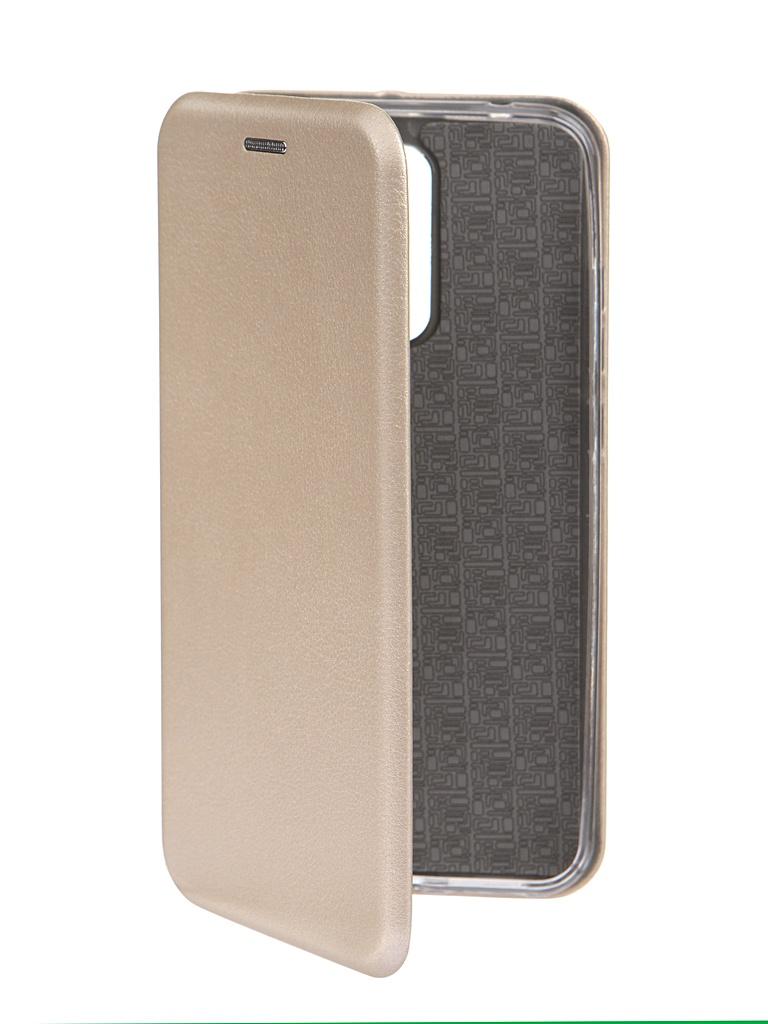 Чехол Innovation для Xiaomi Redmi 8 Book Gold 16624