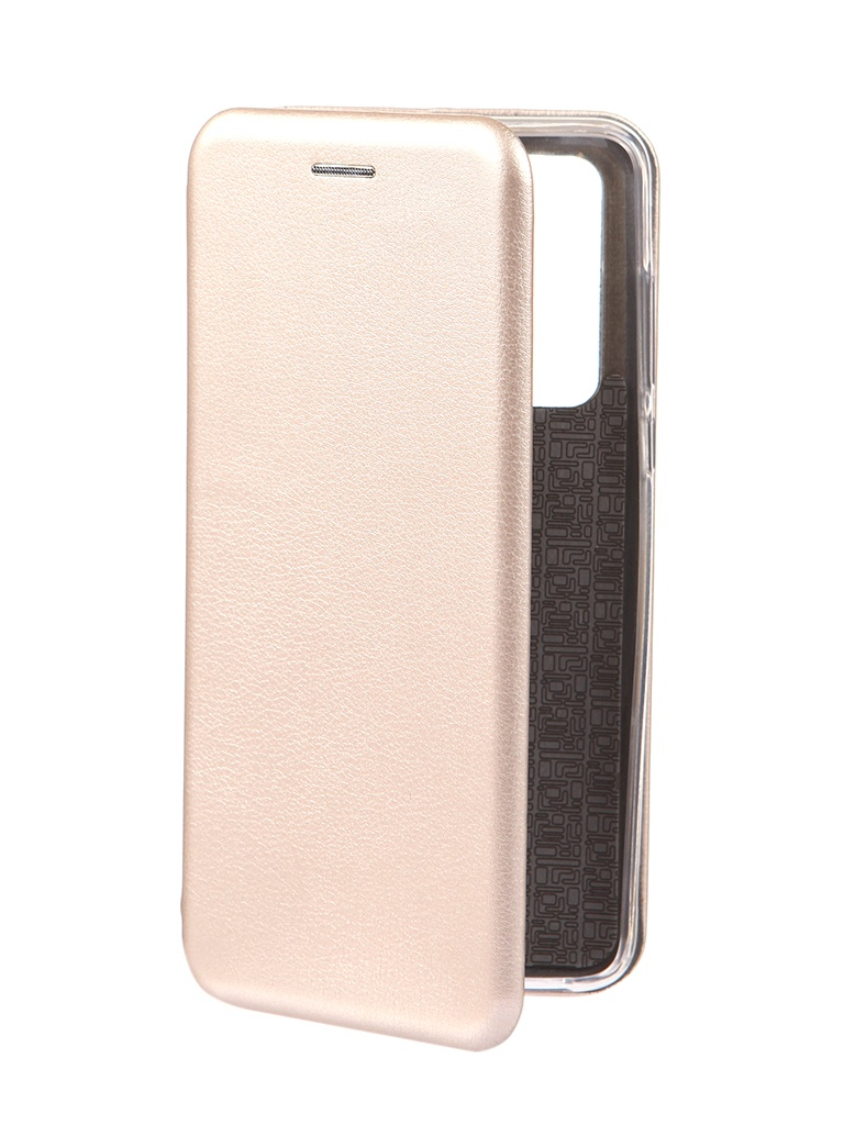 Чехол Innovation для Huawei P40 Book Gold 17066