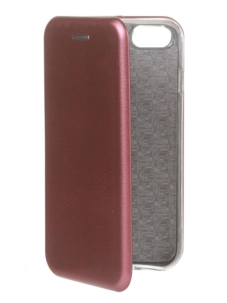 Чехол Innovation для APPLE iPhone SE 2020 Book Burgundy 17035