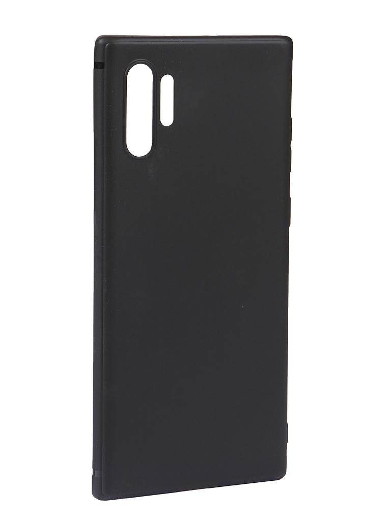 Чехол Innovation для Samsung Galaxy Note 10 Plus Matte Black 16490