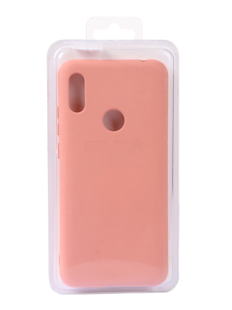 Чехол Innovation для Honor 8A/Huawei Y6 2019 Silicone Cover Pink 15299