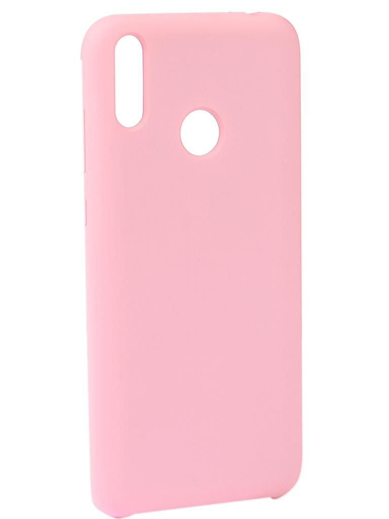 Чехол Innovation для Honor 8C Silicone Cover Pink 14409