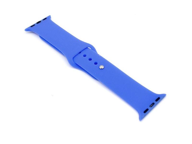 Аксессуар Ремешок Innovation для APPLE Watch 38/40mm Silicone Blue 16518