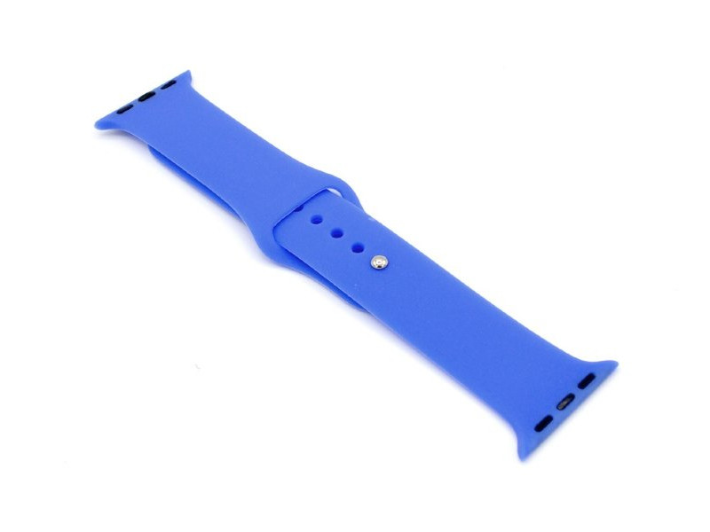 Аксессуар Ремешок Innovation для APPLE Watch 42/44mm Silicone Blue 16519
