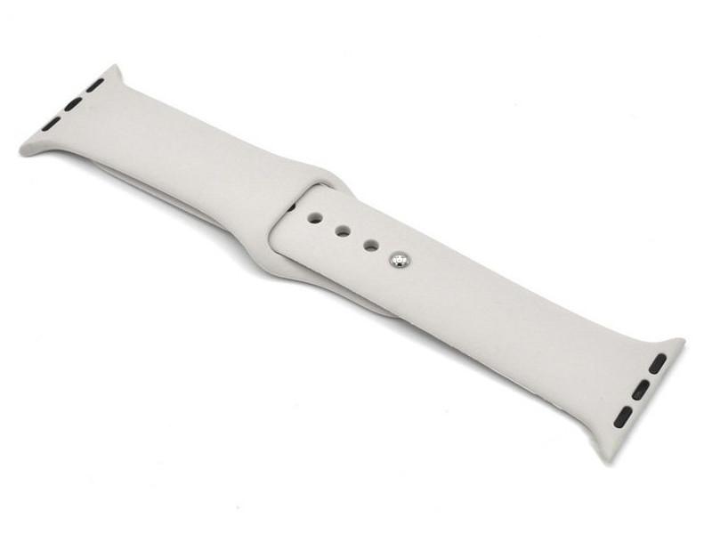 Аксессуар Ремешок Innovation для APPLE Watch 42/44mm Silicone Dark Grey 16732