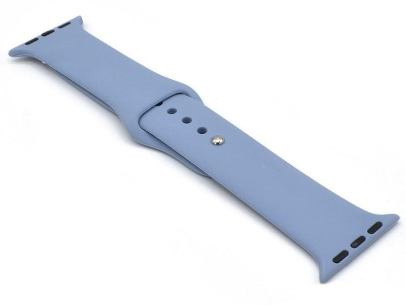 Аксессуар Ремешок Innovation для APPLE Watch 38/40mm Silicone Grey-Blue 16814