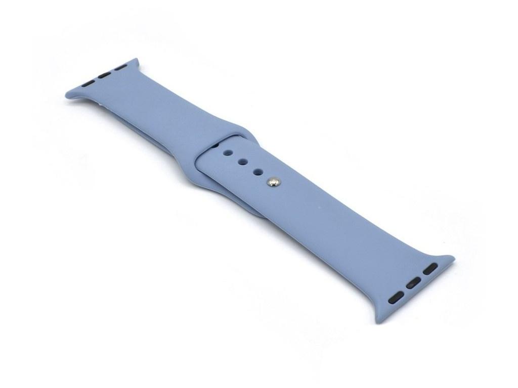 Аксессуар Ремешок Innovation для APPLE Watch 42/44mm Silicone Grey-Blue 16813