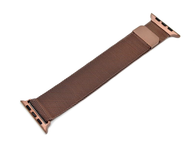 Аксессуар Ремешок Innovation для APPLE Watch 42/44mm Milanese Loop Brown 14968